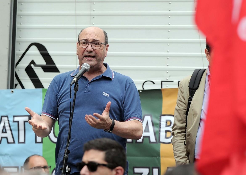 Domenico Pantaleo, segretario della Federazione Lavoratori della Conoscenza (Flc) della Cgil