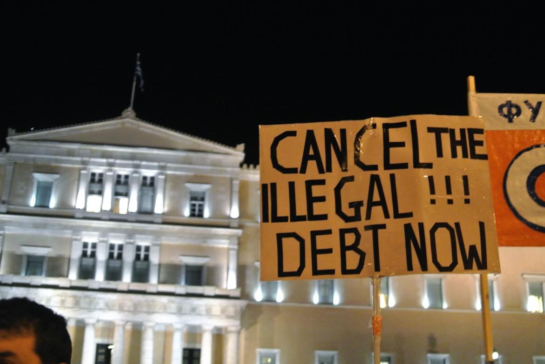 Atene, manifestazione di sostegno al governo di Alexis Tsipras