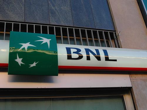 Una filiale della Banca Nazionale del Lavoro