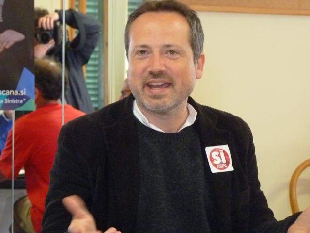 Il candidato della Sinistra, Tommaso Fattori