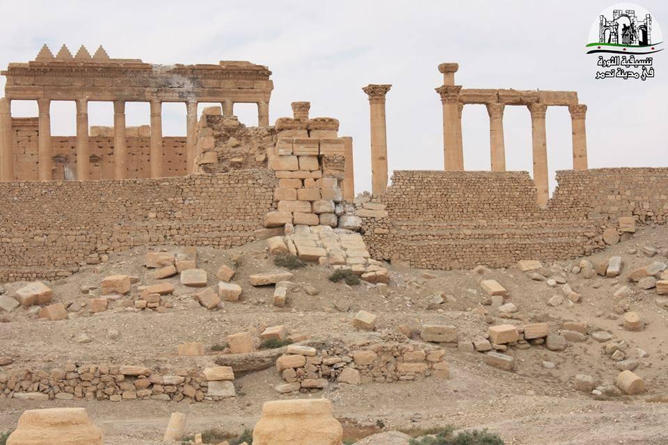 Il tempio di Baal a Palmira