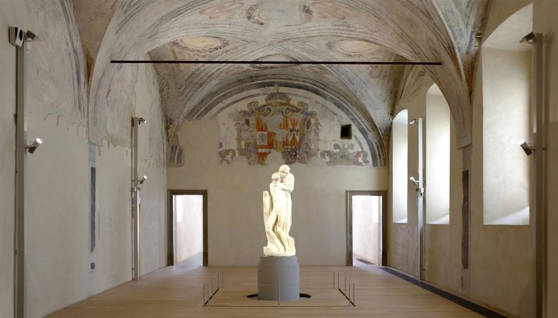 Pietà Rondanini, la nuova sistemazione al Castello Sforzesco