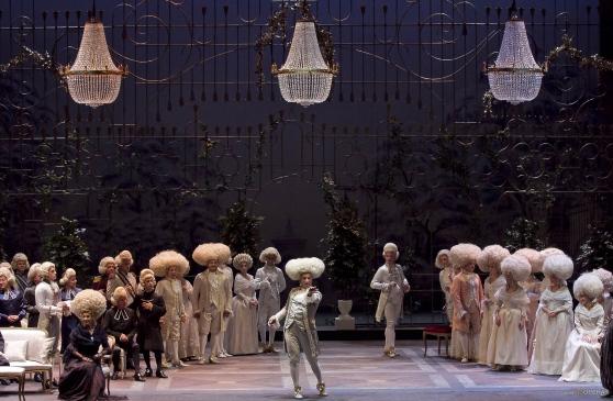 Andrea Chenier nell'allestimento proposto al teatro Verdi di Salerno