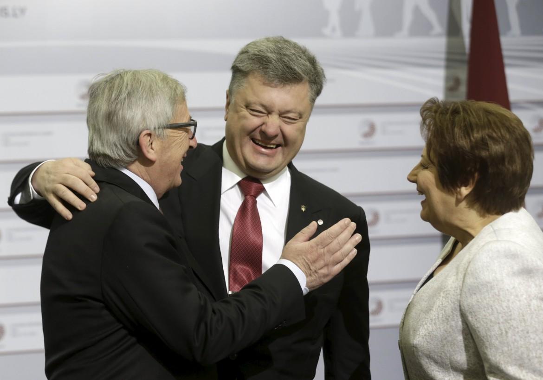 Juncker e Poroshenko