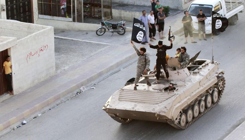 Miliziani dell'Isis a Raqqa