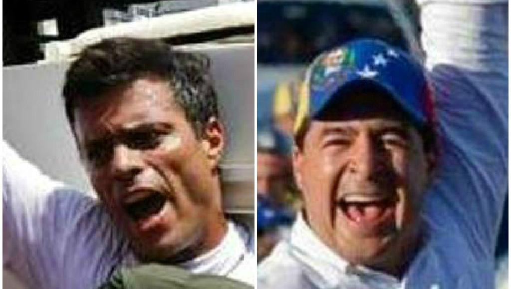 Venezuela, Leopoldo Lopez e Daniel Ceballos