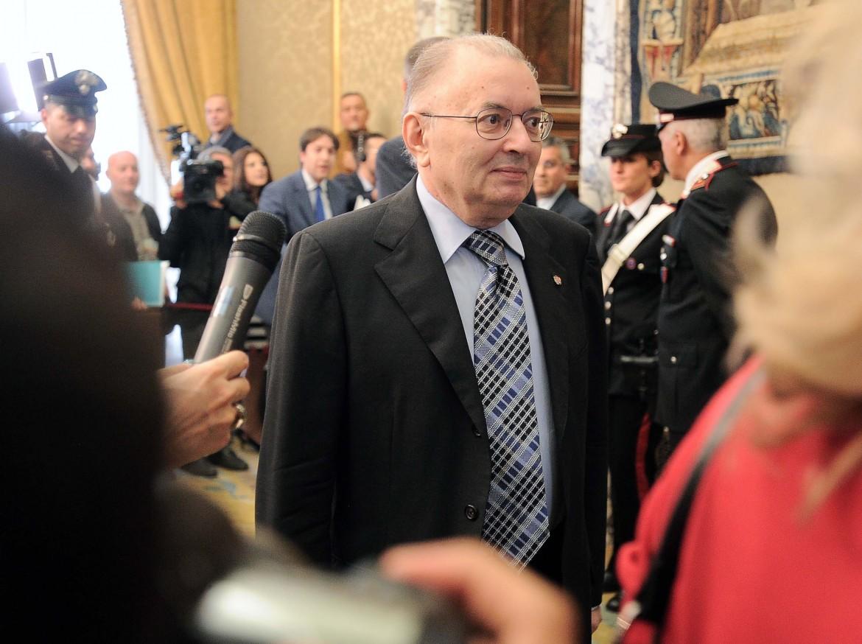 Il presidente degli industriali, Giorgio Squinzi