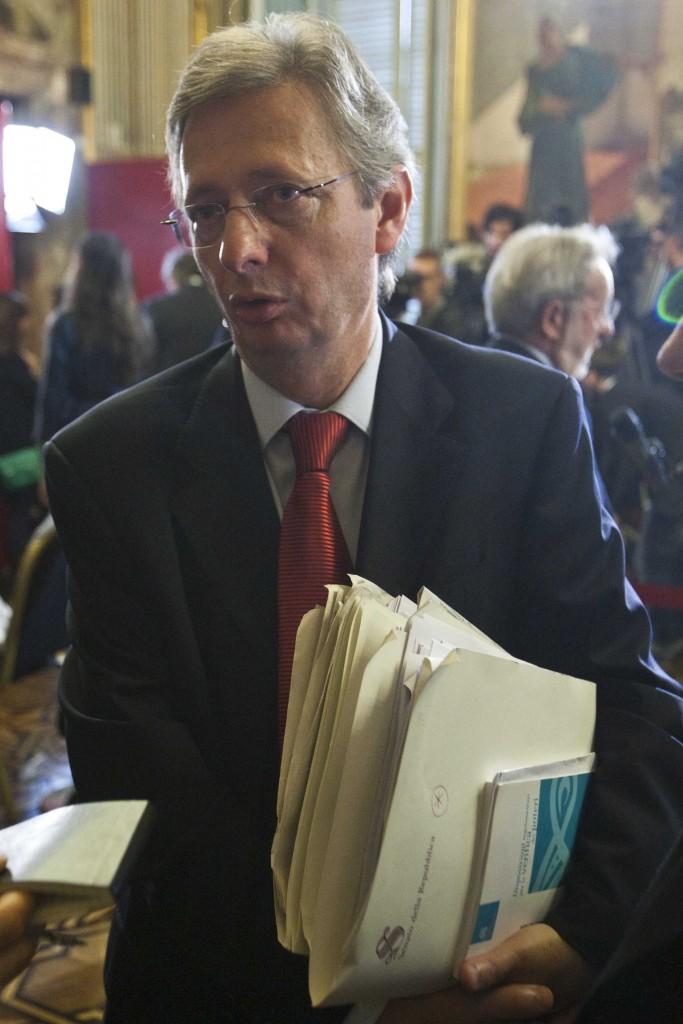 Il senatore Felice Casson, ex pm e candidato sindaco a Venezia