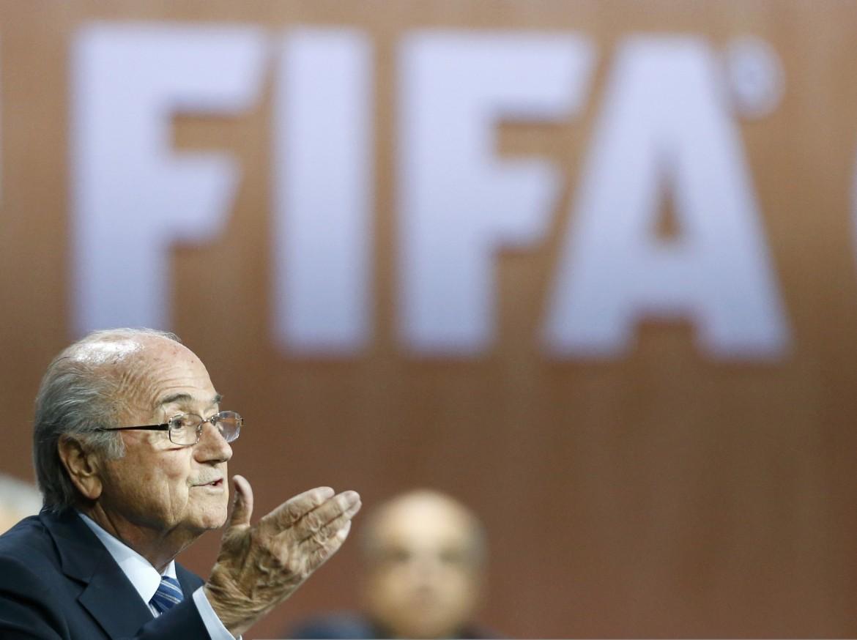 Lo svizzero Sepp Blatter eletto presidente della Fifa per la quinta volta