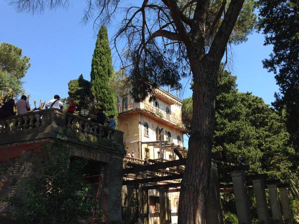 La tenuta Vaselli a Castel Gandolfo occupata da Action