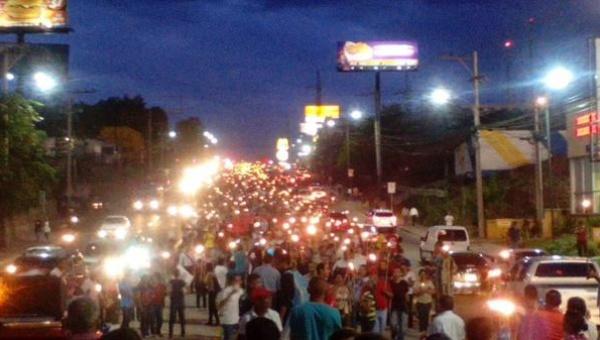 Honduras, manifestazione contro la corruzione