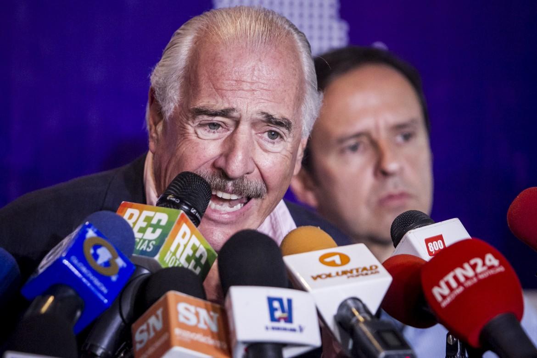Gli ex presidenti della Colombia e della Bolivia in Venezuela