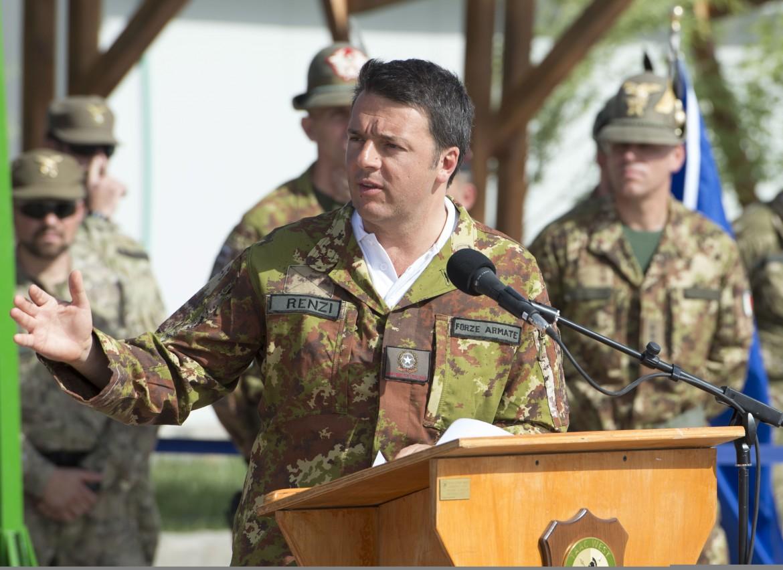 Una visita di Matteo Renzi a Herat