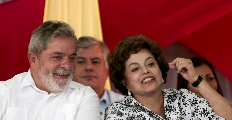 Roussef con Lula