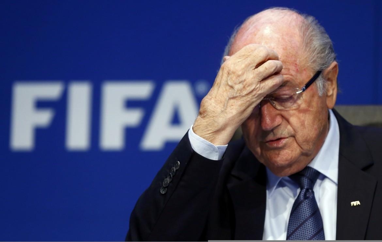 Sepp Blatter al congresso Fifa di Zurigo del 29 maggio scorso