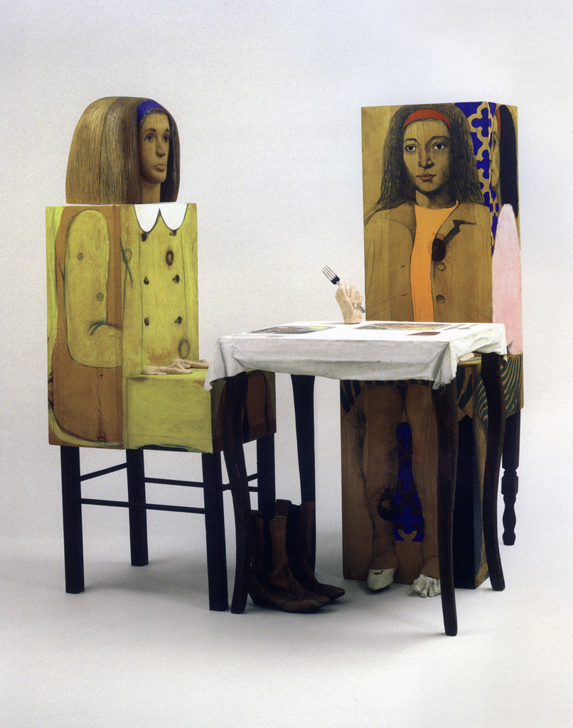 Un'opera di Marisol Escobar