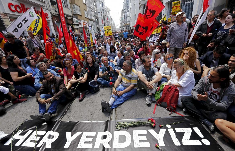 Il ricordo delle proteste a Gezi Park a Istanbul