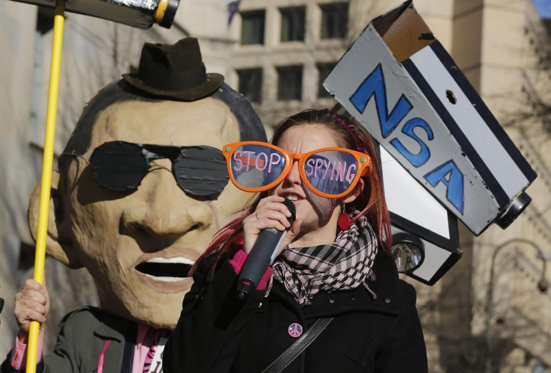 Proteste contro la sorveglianza della Nsa