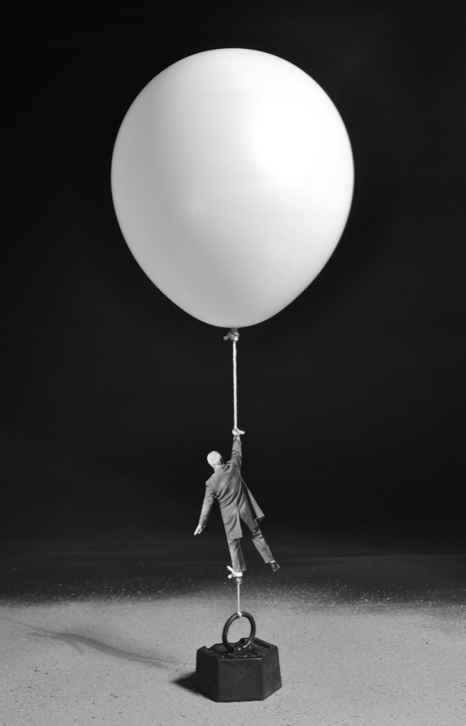 Un'immagine  di Gilbert Garcin