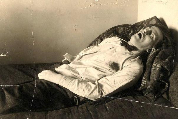 Il cadavere di Majakovskij