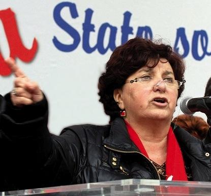 Il segretario generale dello Spi Cgil Carla Cantone