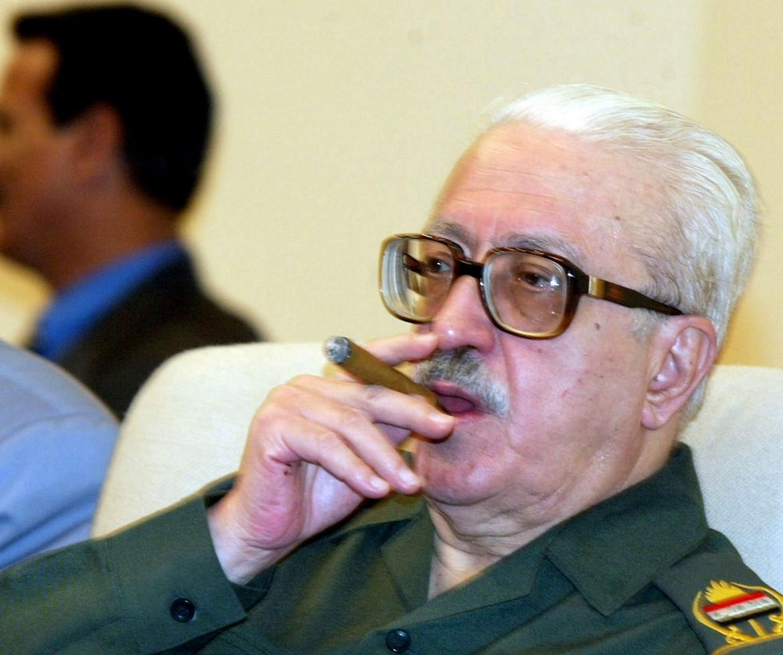 L'ex vice premier iracheno, Tariq Aziz