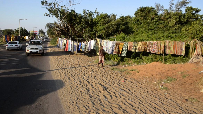 Maputo, panni lungomare