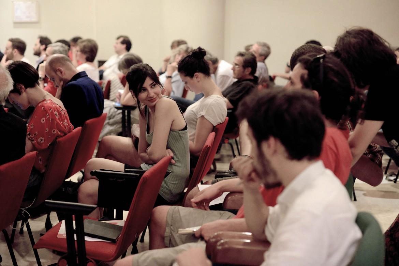 Un momento della discussione in uno dei gruppi di discussione della Coalizione sociale