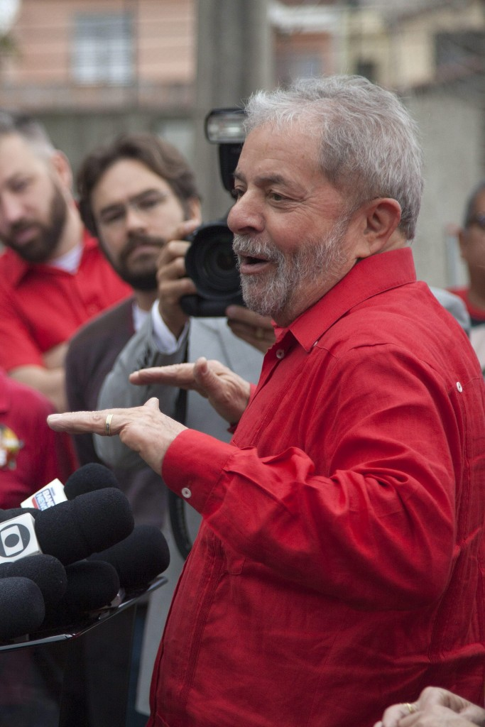 L'ex presidente del Brasile Lula da Silva
