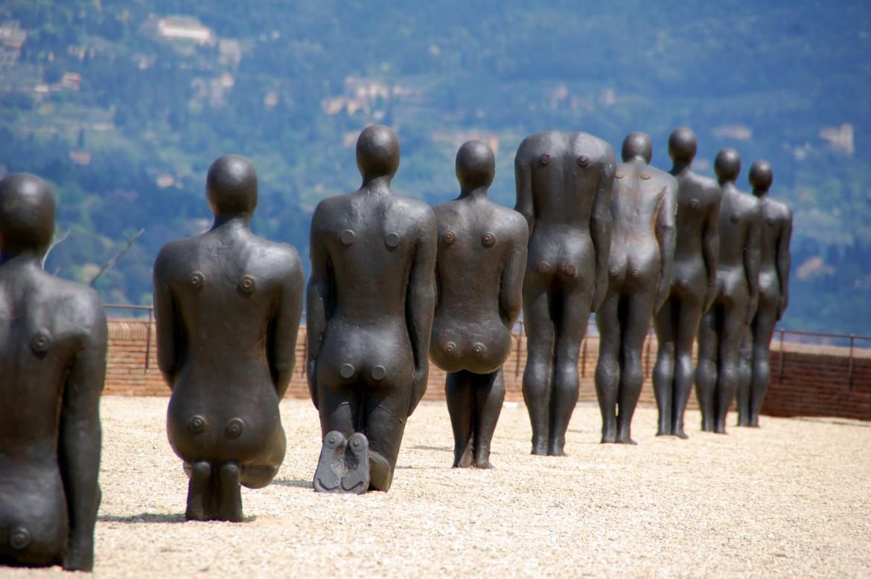 «Human», la mostra di Antony Gormley  al Forte Belvedere di Firenze, fino al 21 Settembre