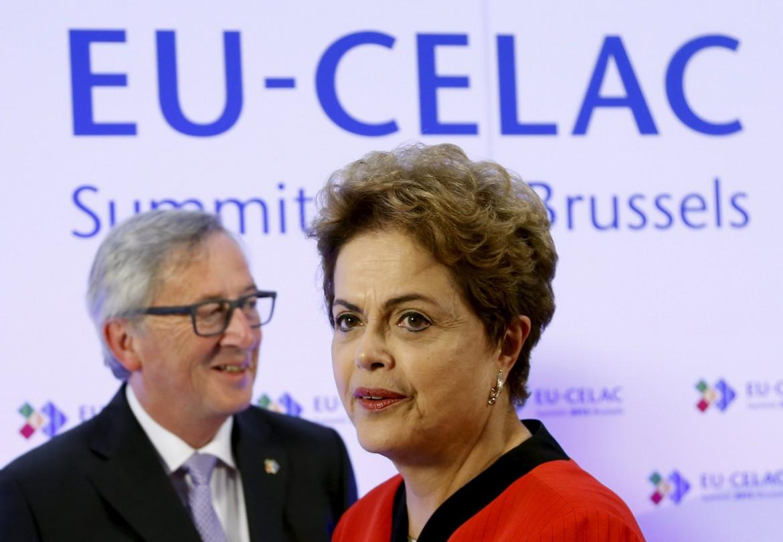 Juncker e Rousseff