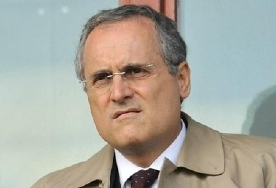 Claudio Lotito, il presidente della Lazio