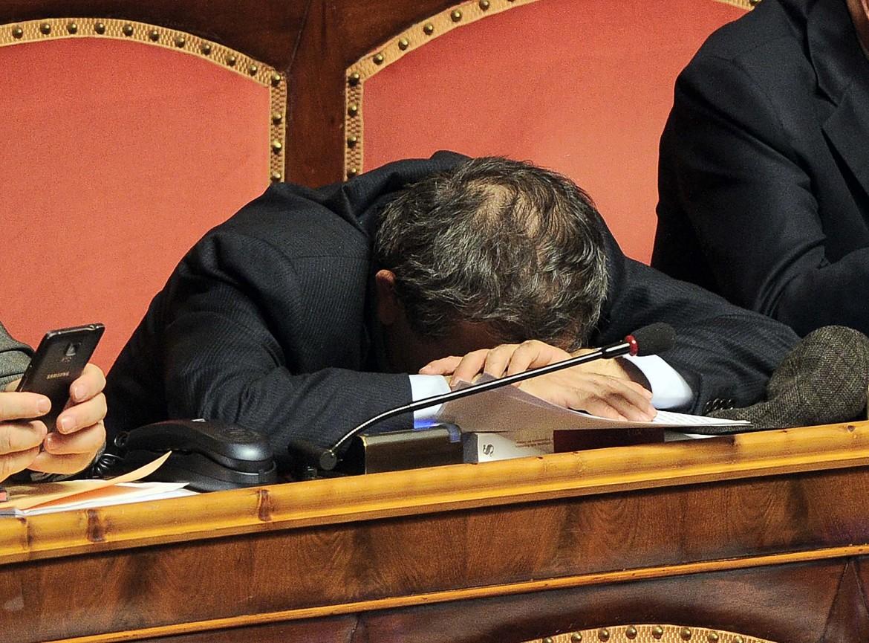Il presidente della commissione Bilancio Antonio Azzollini