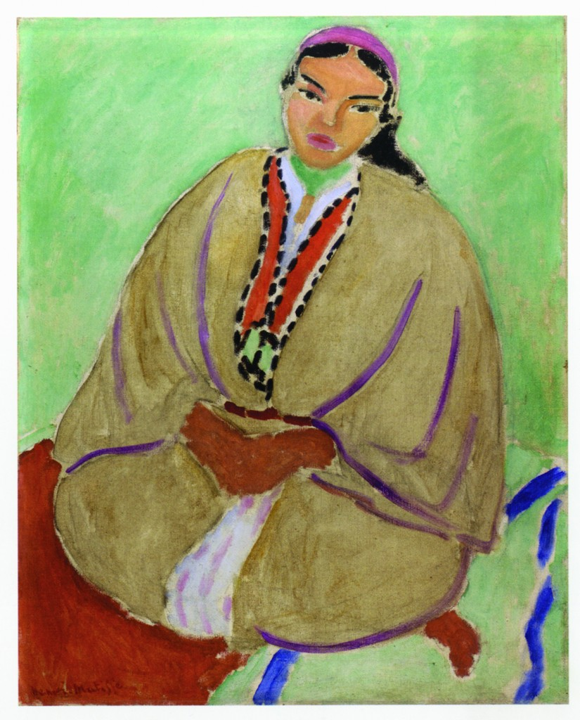Henri Matisse, «Marocaine en jaune (Zorah en jaune)», 1912