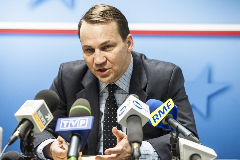 Il ministro degli Esteri polacco, da ieri ex, Radoslaw Sikorski
