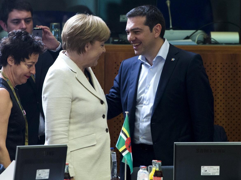 Merkel e Tsipras