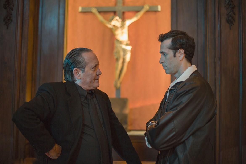 Tony Sperandeo e Cristian Stelluti in
