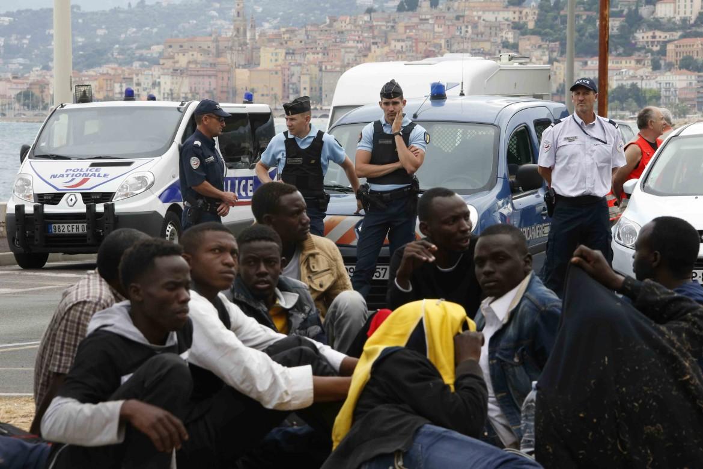 Immigrati a Ventimiglia