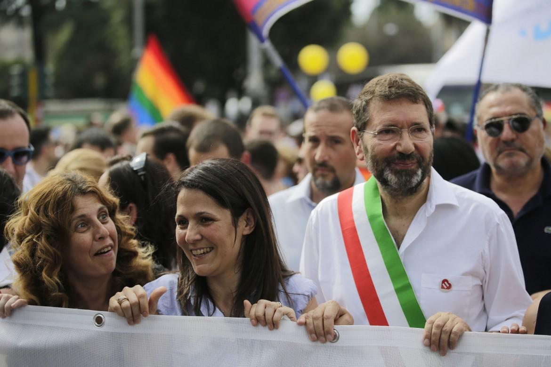 Ignazio Marino al Roma Pride