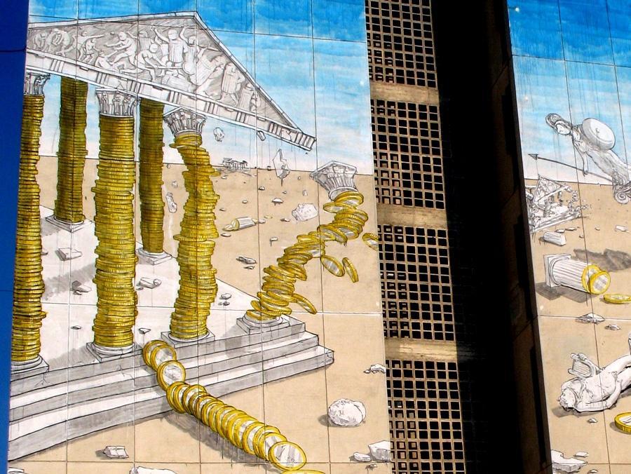 Murales a Atene