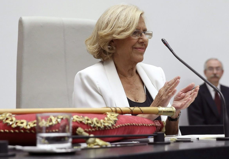 La nuova sindaca di Madrid, Manuela Carmena