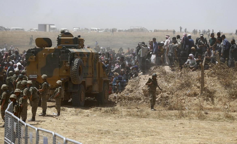 Il confine turco-siriano