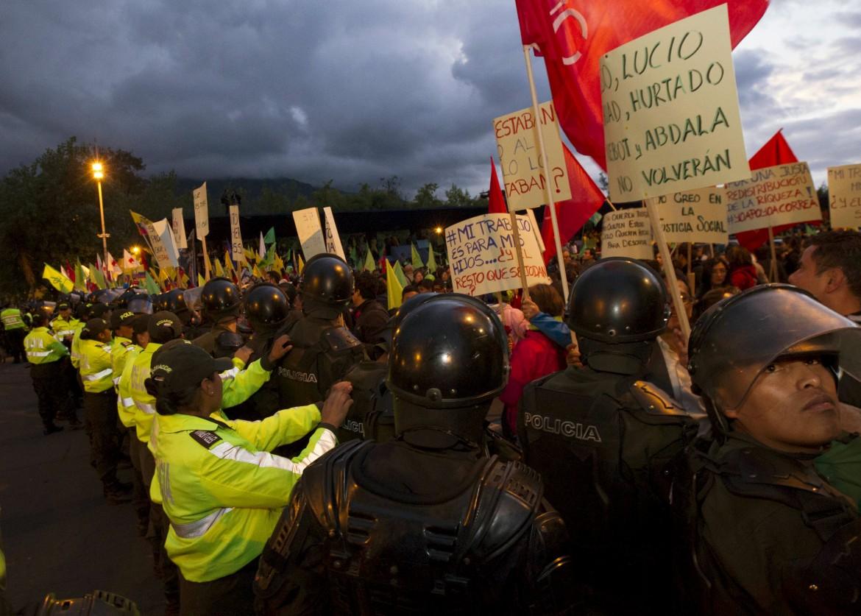 Proteste a Quito