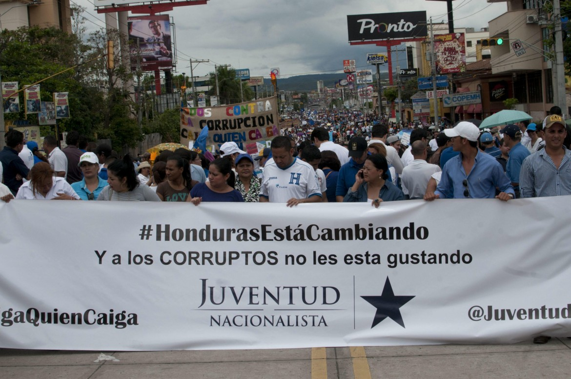 Proteste in Honduras