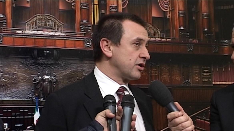 Il nuovo capogruppo dei deputati Pd Ettore Rosato