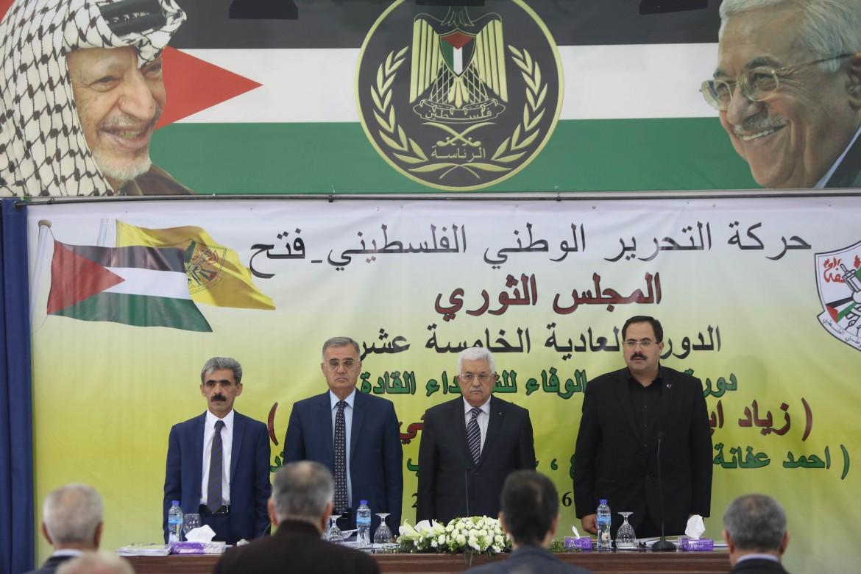 Abu Mazen a Ramallah