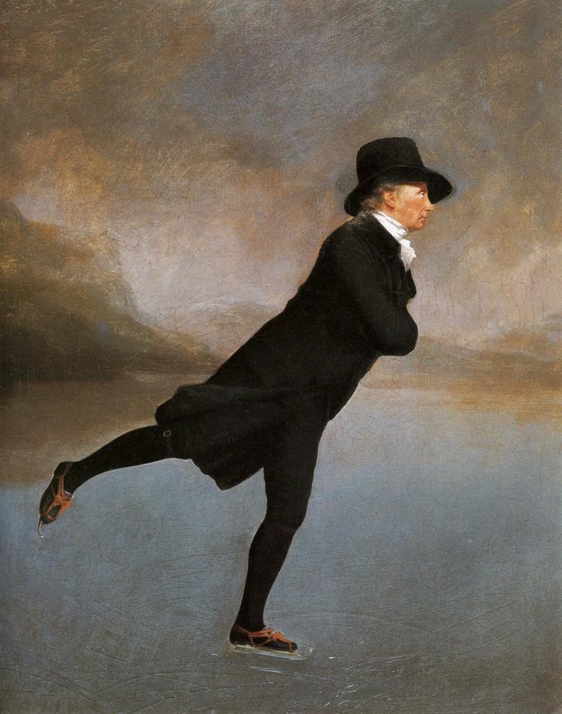 Henry Reaburn, «The Skating Minister», 1784, Edimburgo, Scottish National Gallery