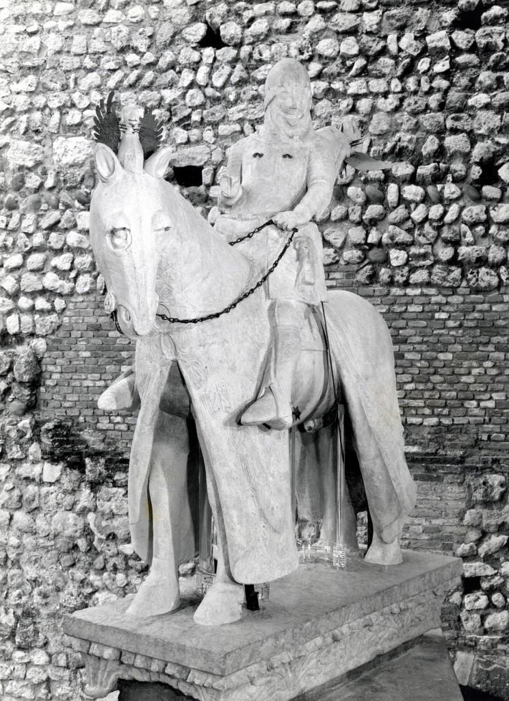 La statua equestre di Cangrande della Scala