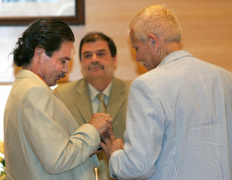 La prima coppia spagnola omosessuale, sposata nel luglio 2005