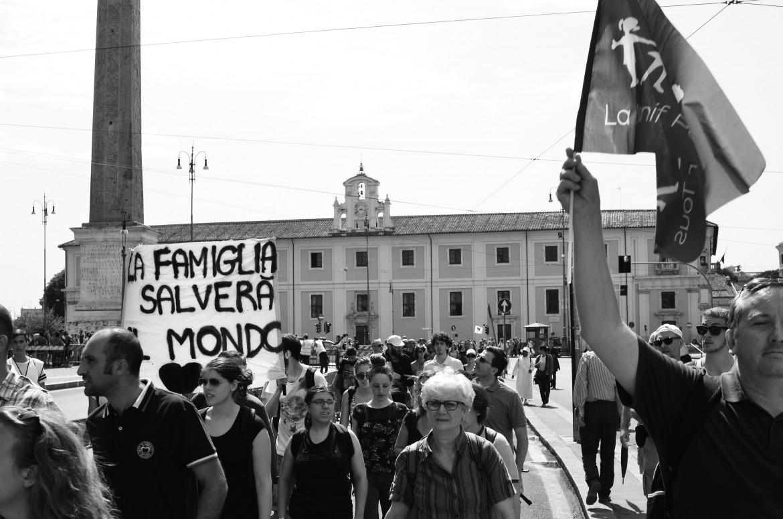 San Giovanni, ieri